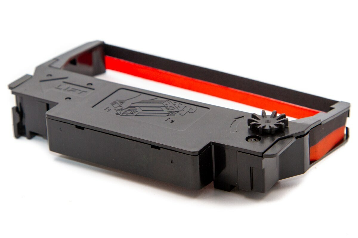 ERC-30/34/38 RED/BLACK Cartridge Ribbon (Box Of 30)